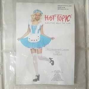 Hot Topic Wonderland Halloween Costume SM
